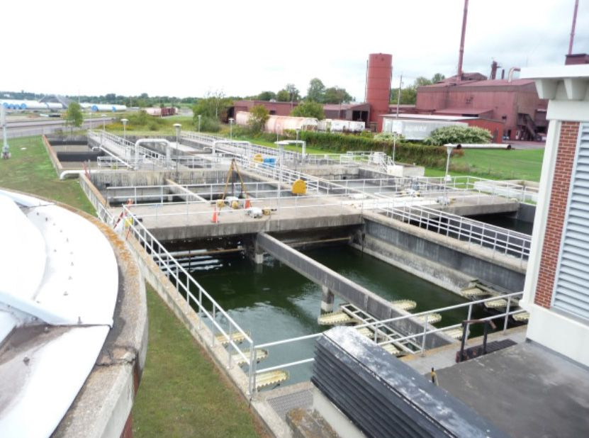 Ogdensburg Wastewater Treatment Plan