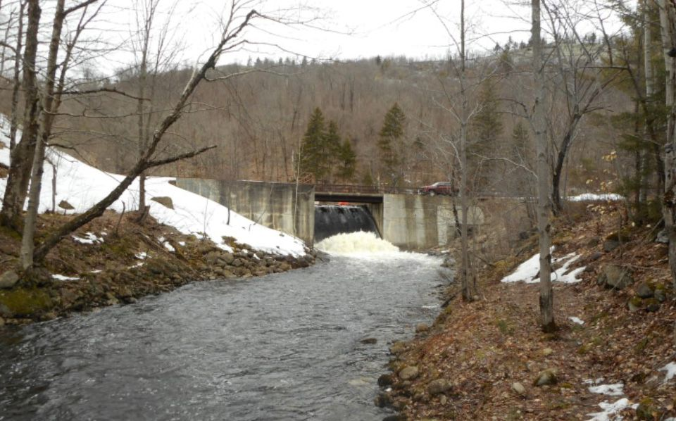 Lows Lake Dam - Water Control an Cofferdam Bypass Plans