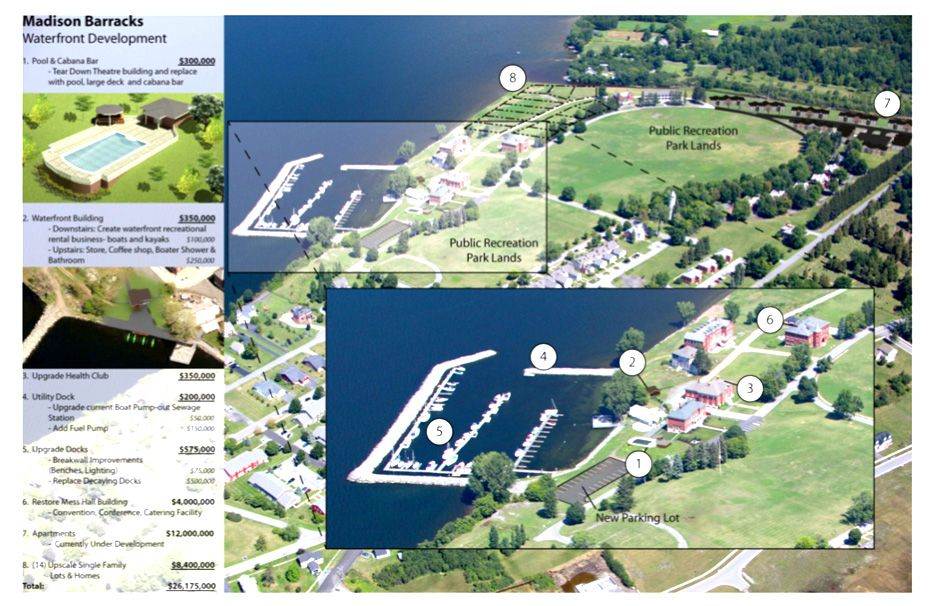 Madison Barracks Waterfront  Revitalization Plan